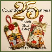 Countdown to Christmas Match Box Swap
